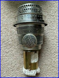 Vintage Jadeite Model B Aladdin Wall Bracket/ Hanging Lamp Font
