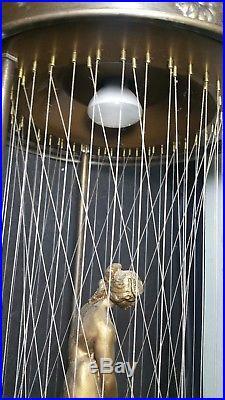 Vintage Large 33 Mineral Oil Rain Greek Goddess Hanging Lamp