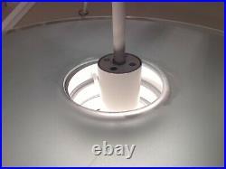 Vintage Lightolier Midcentury Hanging Lamp Pendant Light Fixture