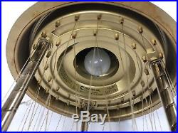 Vintage MINERAL OIL RAIN LAMP wedding drip motion mid century hanging light 60s