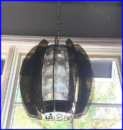 Vintage Maytronics Ice Lite Audio Modulated Hanging Lamp