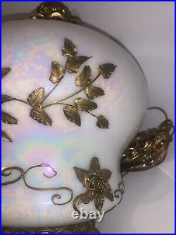 Vintage Mid Century Carl Falkenstein Swag Light Hollywood Regency Hanging Lamp