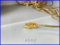 Vintage Mid Century Spaghetti Hanging Swag Lamp Retro