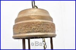 Vintage Motion Oil Rain Lamp Greek nude Goddess Hanging Swag 22 All Original