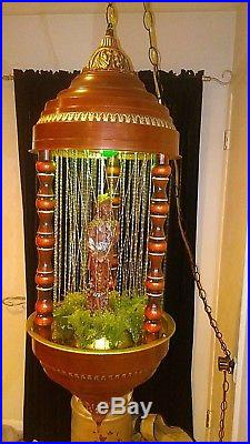 Vintage RARE Hanging Oil Rain Lamp Don Juan The Seducer