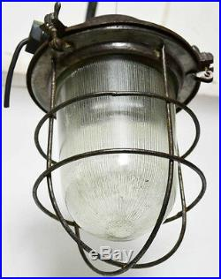 Vintage Retro Industrial Cage Pendant Ceiling Light Lamp -FREE Shipping PL3171