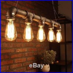 Vintage Retro Style Industrial Pendant Lamp Hanging Light Modern Chandelier 90cm