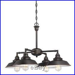 Vintage Style Chandelier Hanging 4 Lights Fixture Pendant Ceiling Lamp Lighting
