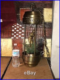 Vintage hanging rain oil lamp