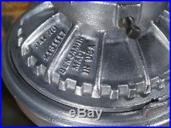 Vtg 50s BENJAMIN INDUSTRIAL EXPLOSION PROOF LIGHT hanging old lamp 1 LEFT