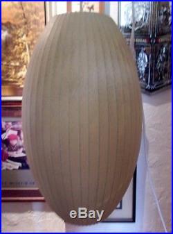 Vtg Original 1950s George Nelson for Howard Miller Bubble Hanging Lamp